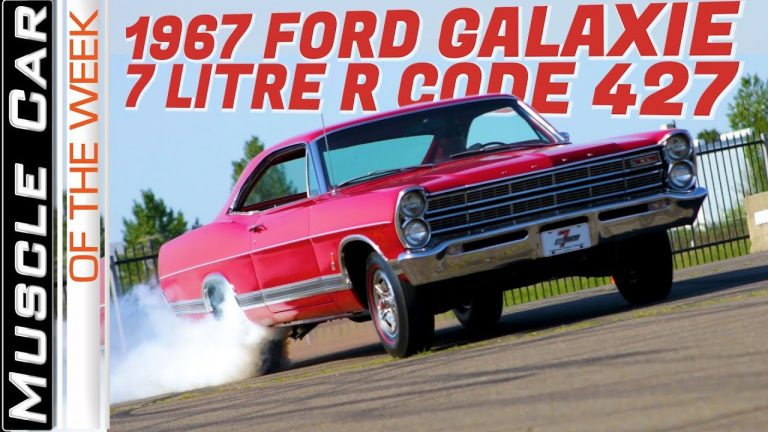 1967 Ford Galaxie 7-Litre R Code 427 Muscle Car Of The Week Video Episode 318 V8TV