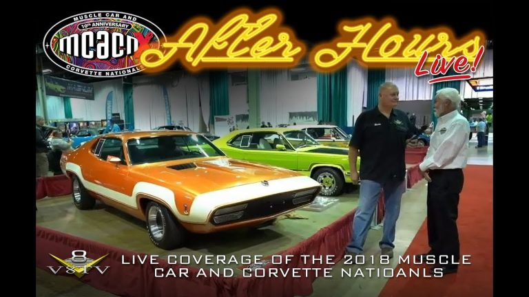 Muscle Car and Corvette Nationals After Hours Live!  ENCORE PRESENTATION