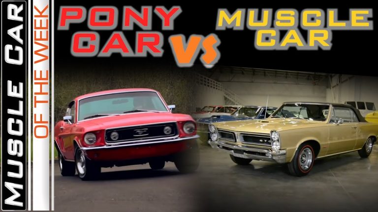 Pony Cars Vs. Muscle Cars – Muscle Car Of The Week Episode 361