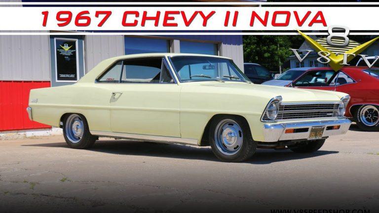 1967 Chevrolet Chevy II Nova Restomod Upgrades at V8 Speed and Resto Shop V8TV