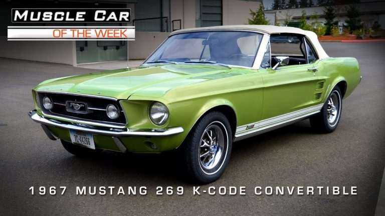 Muscle Car Of The Week Video #5: 1967 Ford Mustang GTA 289 K-Code Convertible
