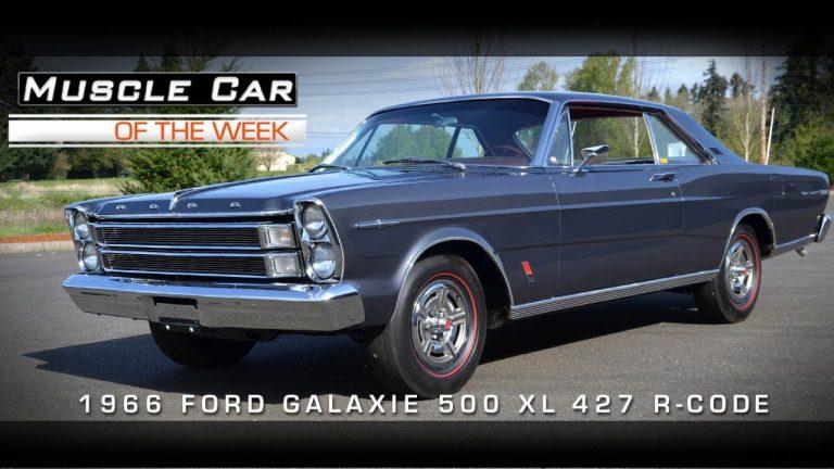 Muscle Car Of The Week Video #7: 1966 Galaxie 500 XL R-Code 427