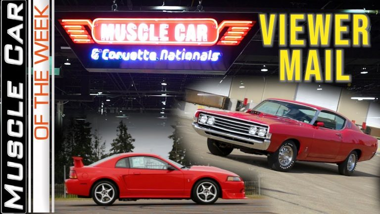 Muscle Car Of The Week MCACN Preview and Cobra Viewer Mail Video Episode 320 V8TV
