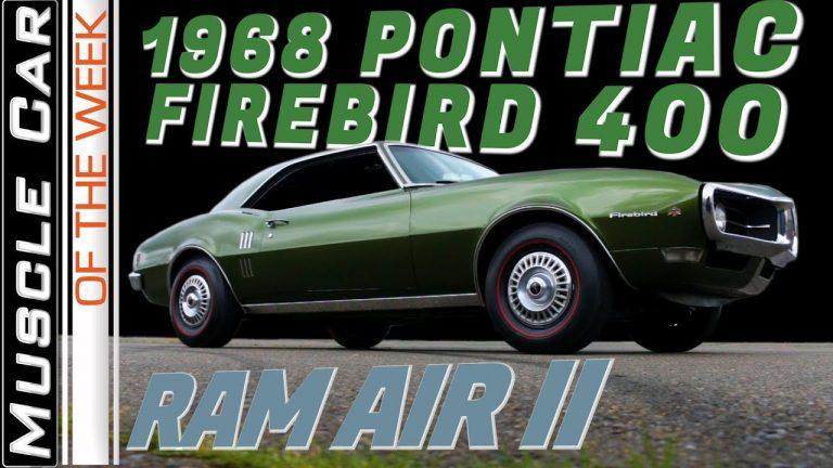 1968 Pontiac Firebird 400 Ram Air II Muscle Car Of The Week Video Episode 317