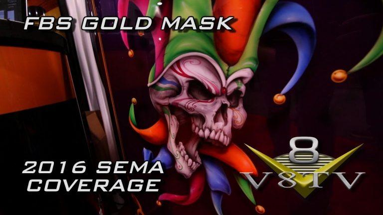 FBS Gold Mask Plotting Film at SEMA 2016 Video V8TV