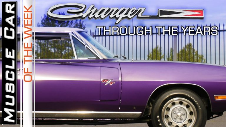 Charging Through The Years – Muscle Car Of The Week Episode 366