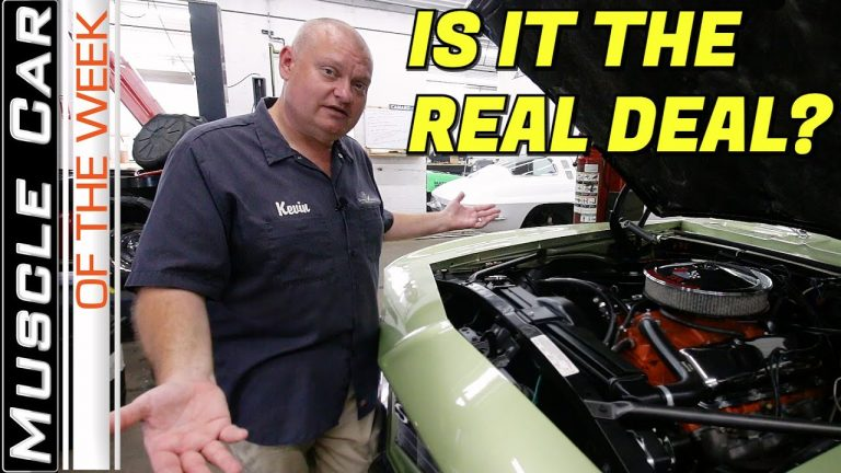 Authenticating A Muscle Car – Muscle Car Of The Week Episode 363