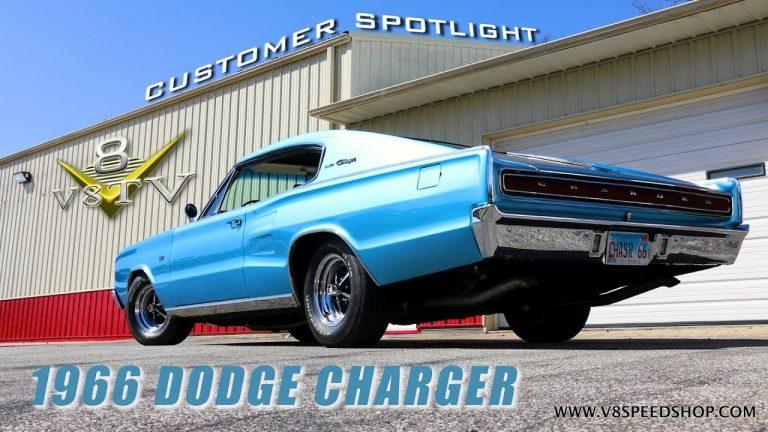 1966 Dodge Charger Upgrades Video V8 Speed and Resto Shop V8TV