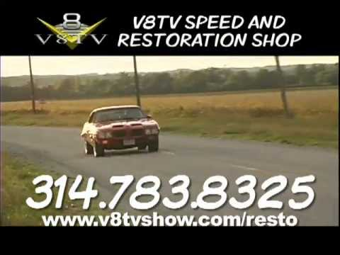 V8 Speed & Resto Shop – Muscle Car Restoration-Video