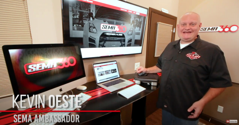 Kevin Oeste Hosts The 2020 SEMA360 New Products Awards Ceremony