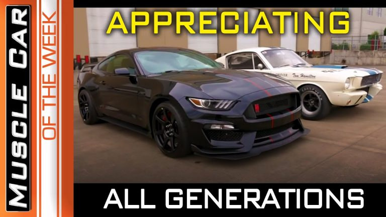 Appreciating All Generations – Muscle Car Of The Week Episode #358