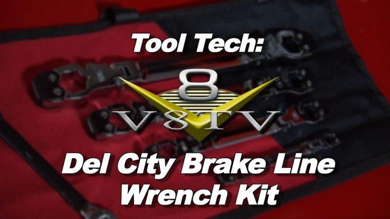 Tool Tech:  Del City Ratcheting Brake Line Set Makes Repairs Easier-Video