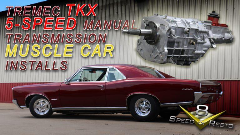 Tremec TKX 5-Speed Manual Transmission Conversion Video at V8 Speed and Resto Shop