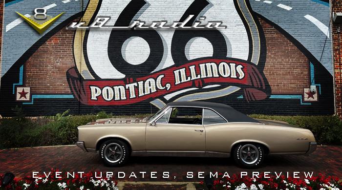 SEMA 2021 Preview, 40th 4 Wheel Jamboree, Cruising Route 66, Auto Trivia, and More on the V8 Radio Podcast