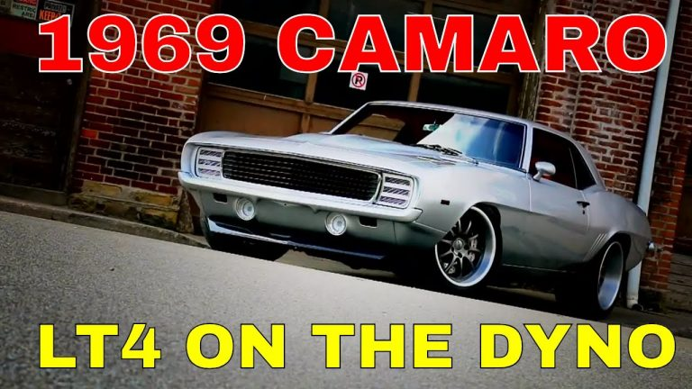 Pro-Touring 1969 Camaro Supercharged LT4 Swap Install Video Part 3 – Dyno Time V8 Speed & Resto Shop