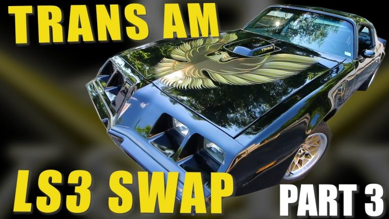 1979 Pontiac Firebird Trans Am LS Engine Swap and Suspension at V8 Speed and Resto Shop Part 3