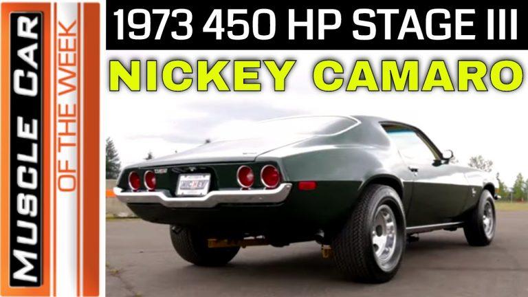 1973 Nickey Chevrolet Big Block 454 Stage III Camaro Muscle Car Of The Week Video Episode 352