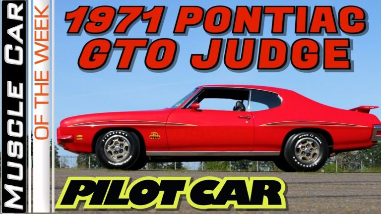 1971 Pontiac GTO Judge 455 4-Speed Pilot Car – Muscle Car Of The Week Video Episode 338