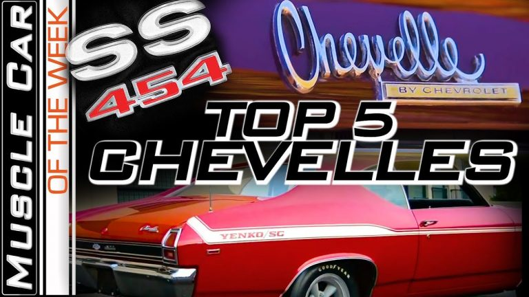 Top Chevelles Volume 1 –  Muscle Car Of The Week Video Episode 324 V8TV