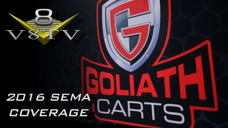 Goliath Carts Professional Tool and Part Storage Systems Video SEMA 2016 V8TV