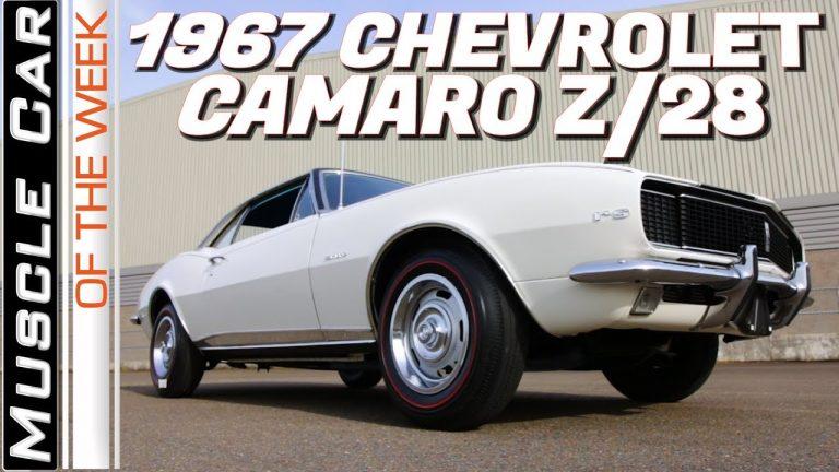 1967 Chevrolet Camaro RS Z28 Muscle Car Of The Week Episode 321 V8TV
