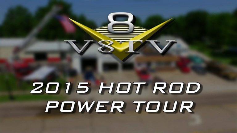 2015 Hot Rod Magazine Power Tour Visits V8 Speed & Resto Shop Video V8TV