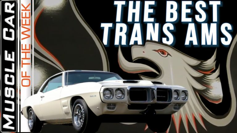 Top Pontiac Trans Ams – Muscle Car Of The Week Video Episode 346