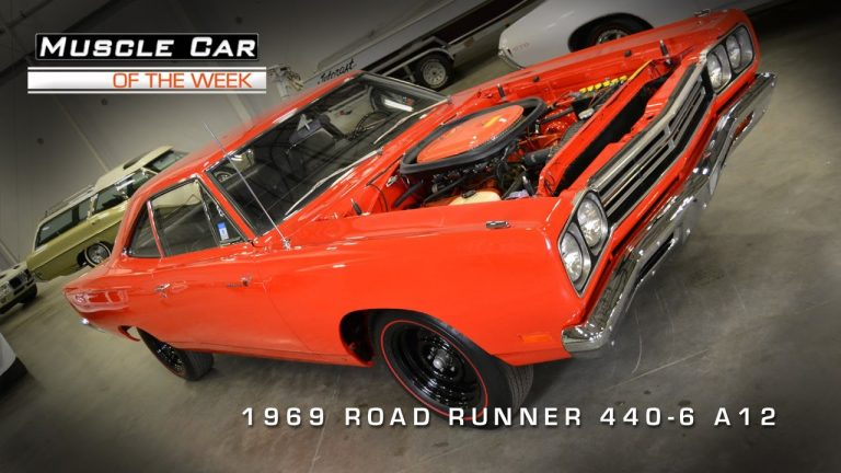 Muscle Car Of The Week Video #2: 1969 Plymouth Road Runner A12 MCOTW