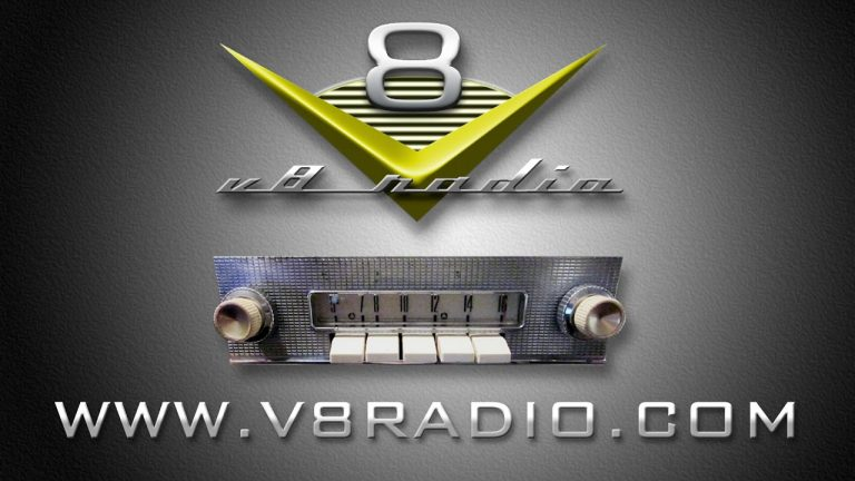 Subscribe to the V8 Radio Podcast!  Listen on iTunes, Stitcher, Podchaser, Facebook, and More!