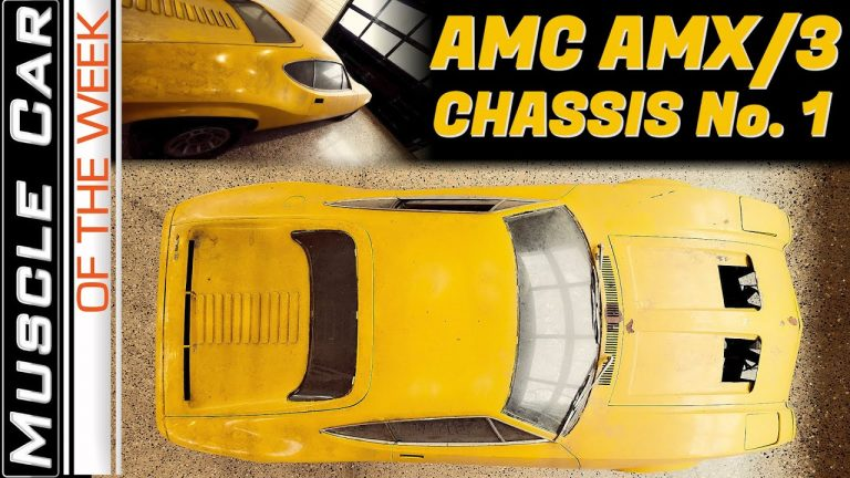 AMC AMX/3 At MCACN – Muscle Car Of The Week Episode 362