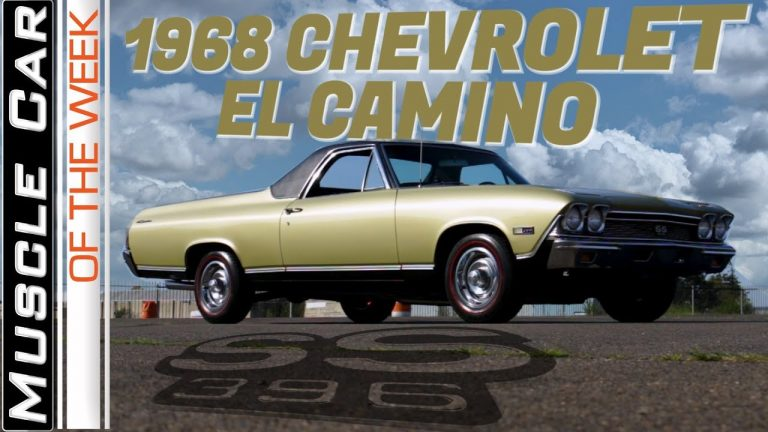 1968 Chevrolet El Camino 396 SS Muscle Car Of The Week Video Episode 316 V8TV