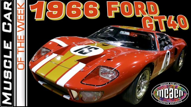 1966 Ford Alloy Body AM GT40-1 – Muscle Car Of The Week Video Episode 349