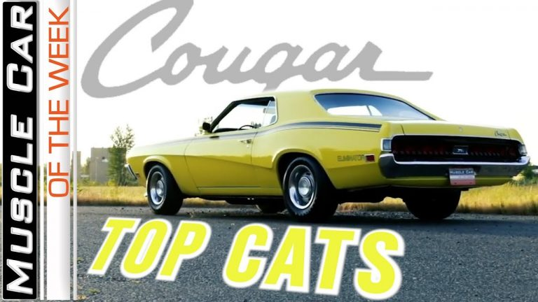 Mercury Cougar Muscle Cars From The Brothers Collection – Muscle Car Of The Week Video Episode 351