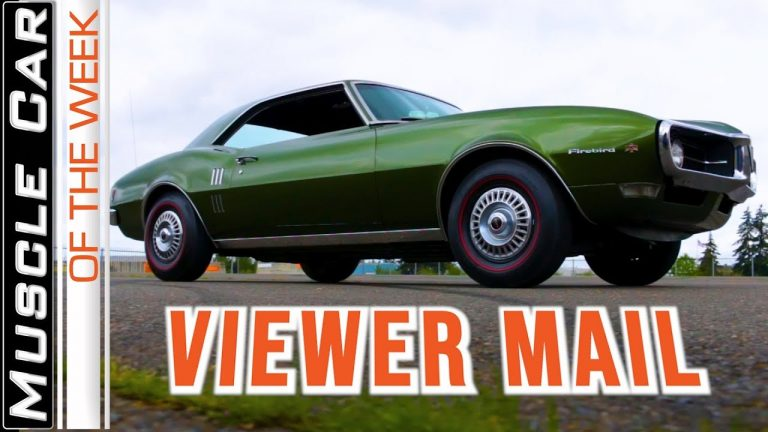 Compression Ratio Explained and Other Viewer Mail Muscle Car Of The Week Video Episode 350