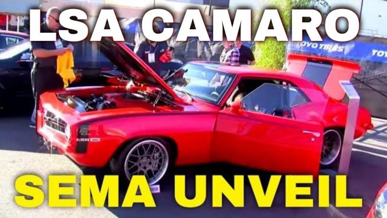 """Supercharged LSA powered Pro-Touring 1969 Camaro """"Lou's Change"""" SEMA Show Unveiling Video V8TV"""
