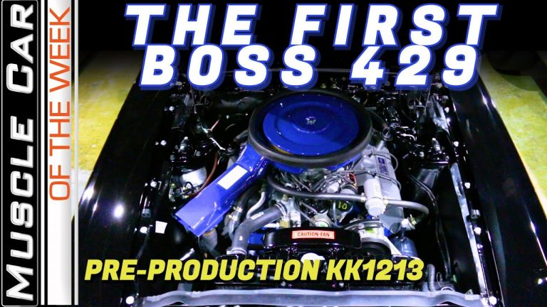 The First 1969 Ford Mustang Boss 429 – Muscle Car Of The Week Episode 360