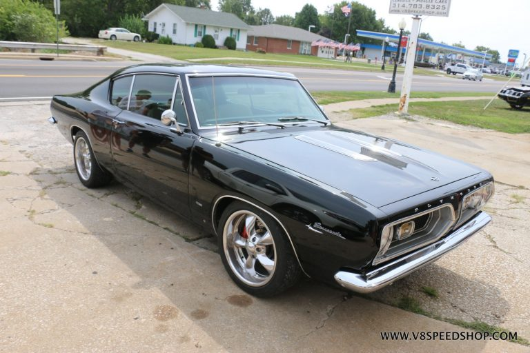 1967 Plymouth Barracuda Resto Mod Maintenance at V8 Speed and Resto Shop