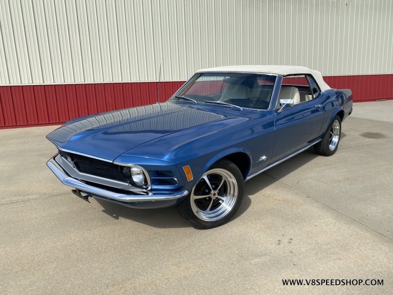 1970 Ford Mustang Convertible Body Restoration at the V8 Speed and Resto Shop