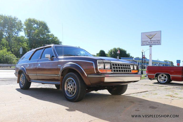 1983 AMC Eagle Maintenance at V8 Speed and Resto Shop