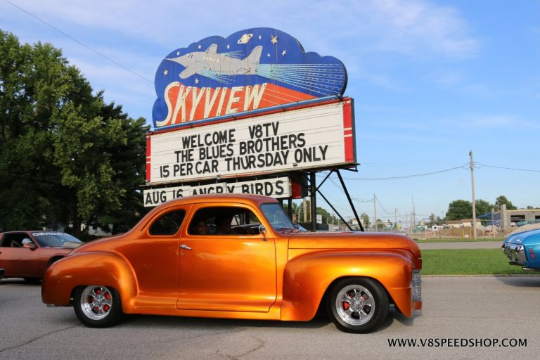 5th Annual V8TV Drive In Cruise Photo Gallery August 15, 2019 The Blues Brothers