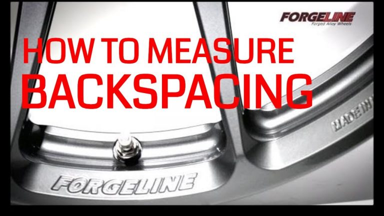 How To Measure Backspace and Offset for Custom Wheels Video V8TV
