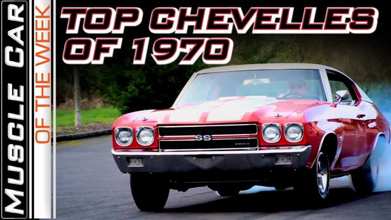 Top Chevelles of 1970 –  Muscle Car Of The Week Video Episode 372