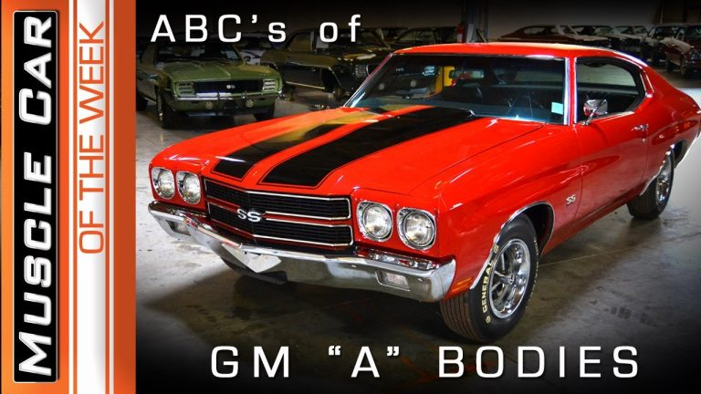 """Chevelle, GTO, 442, GS – The ABC's of GM """"A"""" Bodies – Muscle Car Of The Week Episode #357"""