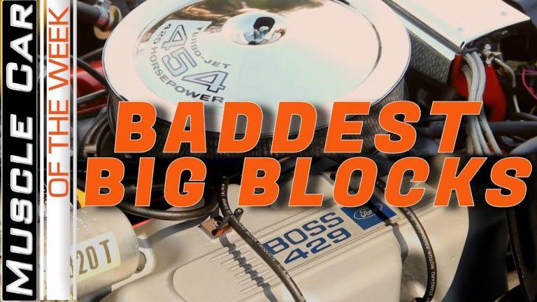 Baddest Big Blocks – Muscle Car Of The Week Video Episode 328