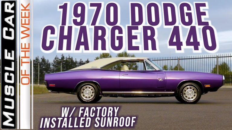 1970 Dodge Charger 440 6-Pack Sunroof – Muscle Car Of The Week Video Episode 345