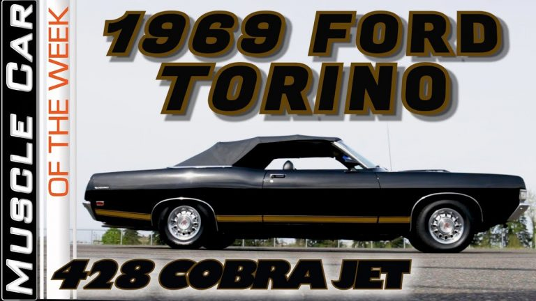 1969 Ford Torino 428 Cobra Jet 4-Speed Convertible – Muscle Car Of The Week Video Episode 340