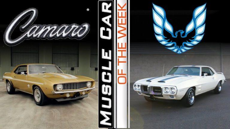 Camaro Vs. Firebird – Muscle Car Of The Week Episode 370