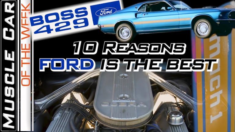 Top 10 Traits of Ford Muscle – Muscle Car Of The Week Episode #353