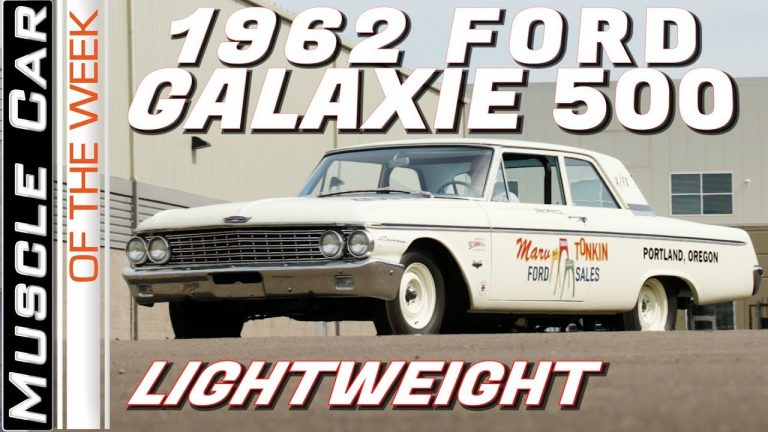 1962 Ford Galaxie 500 Lightweight – Muscle Car Of The Week Video Episode 331
